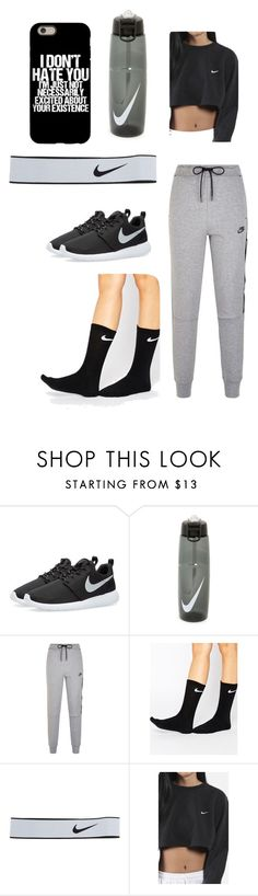 5640f81b60a Lazy by myajane04 on Polyvore featuring NIKE Gym Outfits