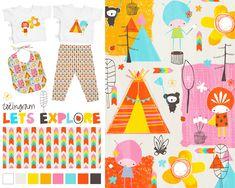 Zoe Ingram Lilla Rogers MATS Week 2 http://www.zoeingram.com/week-2-mats-baby-apparel/