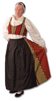 Laihian naisen kansallispuku Folk Costume, Costumes, Folk Clothing, The Shining, Black And White Pictures, Traditional Dresses, Finland, Culture, Embroidery
