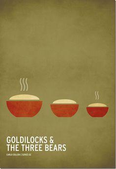 minimalist tales - goldilocks