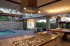 Rustic Meets Modern: Garden House by Cincopatasalgato | http://www.designrulz.com/design/2015/09/rustic-meets-modern-garden-house-by-cincopatasalgato/