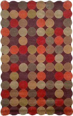 Soho Rugs | Studio Rugs Collection I | Amalfi Circles Teak Rug