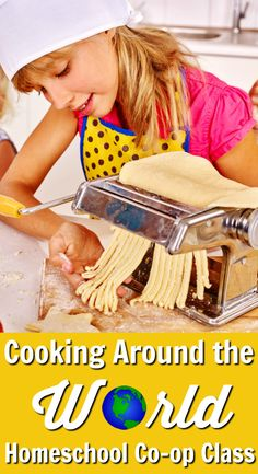 Cooking Around the World Homeschool Co-op Class from Walking by the Way