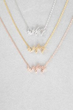 We complete you ♥️ Stunning accessories styled for you. Bff Necklaces, Best Friend Necklaces, Arrow Necklace, Gold Necklace, Unicorn Necklace, Bride And Groom Gifts, Good Spirits, Cute Unicorn, Creative Gifts