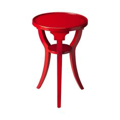Add rich color to brighten your living space with this Simple Sophistication Accent Table. Offered in multiple finishes, the table features a round top with a smaller round shelf underneath. The three-...  Find the Simple Sophistication Accent Table, as seen in the Spring in Paris Collection at http://dotandbo.com/collections/spring-in-paris?utm_source=pinterest&utm_medium=organic&db_sku=106896