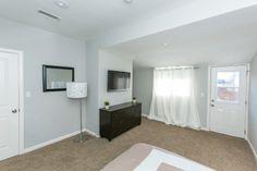 Plush Tan carpet for bedroom #1