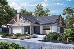 Projekt domu Nela V 137,4 m2 - koszt budowy - EXTRADOM Home Fashion, House Plans, Shed, Outdoor Structures, Cabin, House Styles, Outdoor Decor, Home Decor, Furniture
