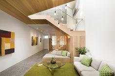 hall / escadas / sala