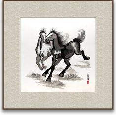 Art of Silk Hand Designed Silk Art - Galloping Horses - Chinese Painting Silk Embroidery - Unframed Art of Silk http://www.amazon.com/dp/B008CG1YFO/ref=cm_sw_r_pi_dp_Xik5ub1SFZ3AQ