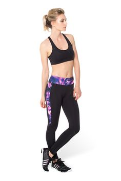 Purple Ninja Spikes - LIMITED (WW ONLY $110AUD) by Black Milk Clothing