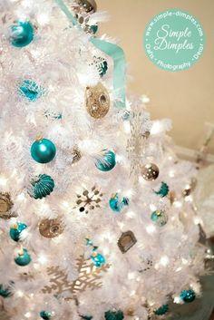 Tiffany Blue Christmas #bluechristmas #christmasideas | Xmas ideas ...