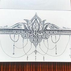 Lotus love. #lotustattoo #lotus #zen #mandala #mandalas #zentangle #arttherapy…