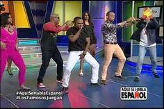 Los famosos Juegan en Aquí se Habla español: Karaoke