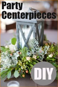 Party Centerpieces.  Dress up your tables with these dashing centerpieces.  Beautiful table centerpieces for birthdays, weddings, bridal showers, baby showers and holidays.