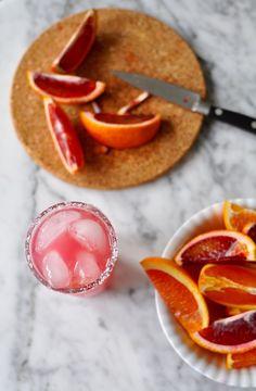 Blood Orange Salty Dog Recipe | ¡HOLA! JALAPEÑO