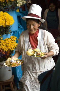 Mercado de Cuzco.- Perú