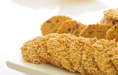 Photo: Sesame Cookies (Barazek) Recipe The kitchen (The Home of Delicious Arabic Food Recipes) invites you to try Sesame Cookies (Barazek) Recipe. Enjoy the Arabic Cuisine and learn how to make Sesame Cookies (Barazek). Lebanese Desserts, Lebanese Recipes, Arabic Sweets, Arabic Food, Arabic Dessert, Kunafa Recipe, Sesame Cookies, Armenian Recipes, Arabic Recipes