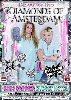 Hans Brinker Budget Hotel : Diamonds of Amsterdam Creativity Online, Page Online, Design Department, Retro Futurism, Travel And Leisure, Surface Design, Amsterdam, Advertising, Ads