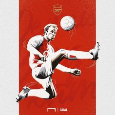 e9b40f21d4f ... FA Community Shield... See more. Dennis Bergkamp for  Arsenal (1995  -2006)  👕400 apparences ⚽️107