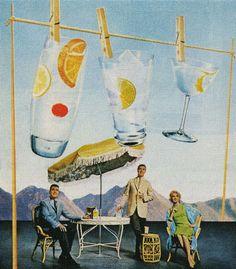 Clean tasting cocktails - Fleischmann's Gin - 1962
