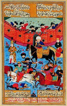 Неудачная осада Кафы Мехмед II Гераем
