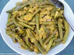 Kitchen Simmer: Sri Lankan Green Bean Curry