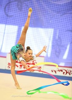 Arina AVERINA (Russia) ~ Ribbon @ Russian National Championship 2017  @ Penza  Photographer Oleg Naumov.