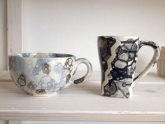 Foto2 - Eigenlob Keramik selbst bemalen in Düsseldorf Mugs, Tableware, Dinnerware, Tumblers, Tablewares, Mug, Dishes, Place Settings, Cups