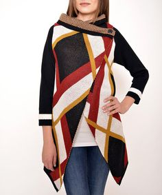 Take a look at this PolkaDot: Classic Fit Poncho in Mix by PolkaDot on #zulily today!