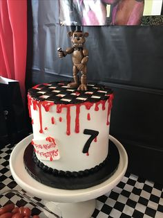 Five nights at Freddy's Cake FNAF Birthday