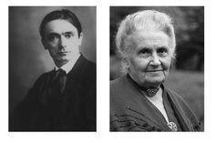 Steiner e Montessori: due metodi a confronto Maria Montessori, Rudolf Steiner, School Info, Cool Kids, Einstein, Parenting, Video, Inspired, Baby