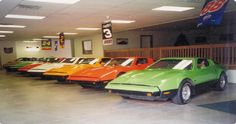 Collection of Bricklin SV-1's from a collector in Rochester, NY containing each of the five 'safety' colors (white, red, green, orange & suntan).