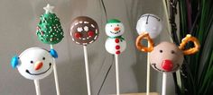 My holiday assortment of cake pops.