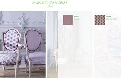 Manuel Canovas Fabrics imported from France available at Jane Hall Design