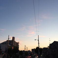 #PeaceForToday #today #peace #sky #osaka #japan #今日 #平和 #空 #大阪 #日本 #感謝 #より良き未来を