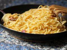 Espaguete à Carbonara | Gordelícias