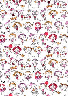 https://flic.kr/p/8gAjGo | 37 GIRLS GIRLS GIRLS | helenpickup.blogspot.com artwork available