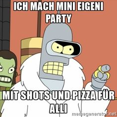 Bender throwing his own Christmas/New Years party. With blackjack and hookers of course lol Religion And Politics, True Religion, Himym, Futurama, Atheism, New Years Eve Party, New Job, Best Funny Pictures, Funny Images