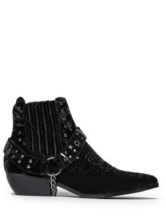 a26003d69442 LASO BLACK VELVET BOOTIE · Casual HeelsCasual BootsRock And Roll FashionWork  ...