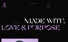 Site of the day: Lu Yu Ecommerce Shop, Creative Web Design, Portfolio Design, Behance, Type, Instagram, Portfolio Design Layouts