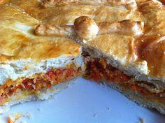 Las recetas de SofyLeon: Empanada de atún Take The Cannoli, French Toast, Pie, Chicken, Breakfast, Desserts, Recipes, Kitchenaid, Quiches
