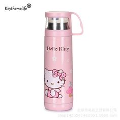 Children Insulation kettle Water Bottle Hello Kitty/Doraemon/Small yellow people Cartoon Stainless Steel Travel D0  #like #great #darrens1960 #amazing #lovely #fantastic #jewelry #lol