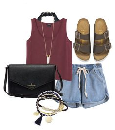 """""""Untitled #30"""" by obvimace ❤ liked on Polyvore featuring Free People, Monki, Birkenstock, Feather & Stone, Chloé, Alex and Ani, Tai, women's clothing, women and female"""