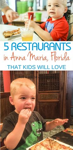5 Restaurants in Anna Maria, Florida that Will Thrill Kids - Traveling Mom