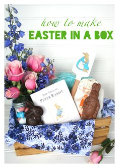 A grown up easter basket for the young at heart adult easter make this grown up easter basket for your neighbor peter rabbit baking kit in negle Choice Image