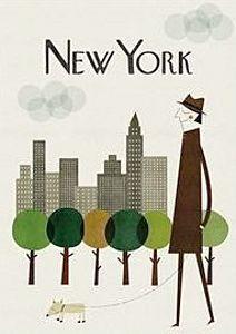 Paris, Londres, New York, les affiches de Blanca Gomez - Poisson Bulle