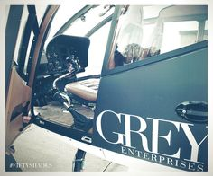 Flying over Seattle is Christian's second favorite hobby. Meet his helicopter Charlie Tango. | Fifty Shades of Grey | In Theaters Valentine's Day