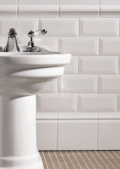 Double-fired ceramic wall tiles SIMPLY by Devon&Devon Devon Devon, Ceramic Wall Tiles, Metro Tiles, Bathroom Fixtures, Bathroom Renovations, Bathroom Furniture, Small Bathroom, Sink, Home Decor