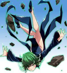 One Punch Man - Tornado One Punch Man Manga, One Punch Man Anime, Anime One, Manga Anime, Tatsumaki One Punch Man, Saitama One Punch Man, Trinity Seven, Loli Kawaii, Sailor Moon