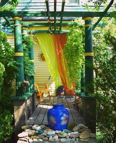 ways to add drama to your garden. Curtain Call, Buffalo, Gardens, Curtains, Insulated Curtains, Blinds, Garden, Draping, Garden Types
